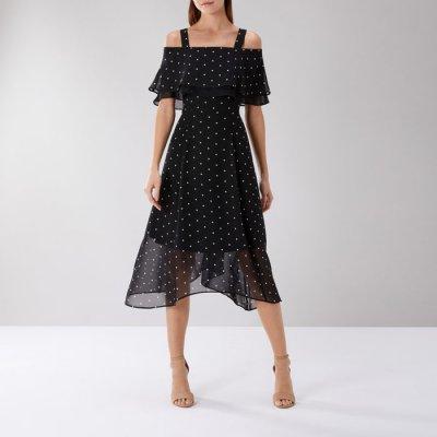 Nadine Polka Dot Midi Dress