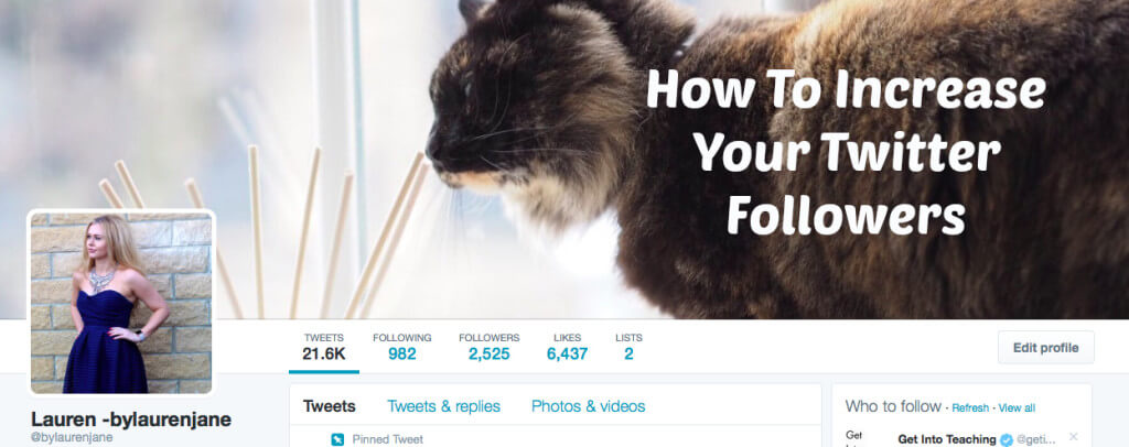 5 Tips To Increase Your Twitter Followers
