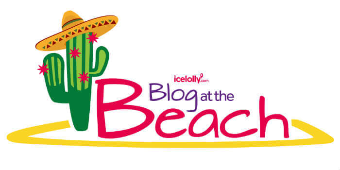 #BlogAtTheBeach with icelolly.com