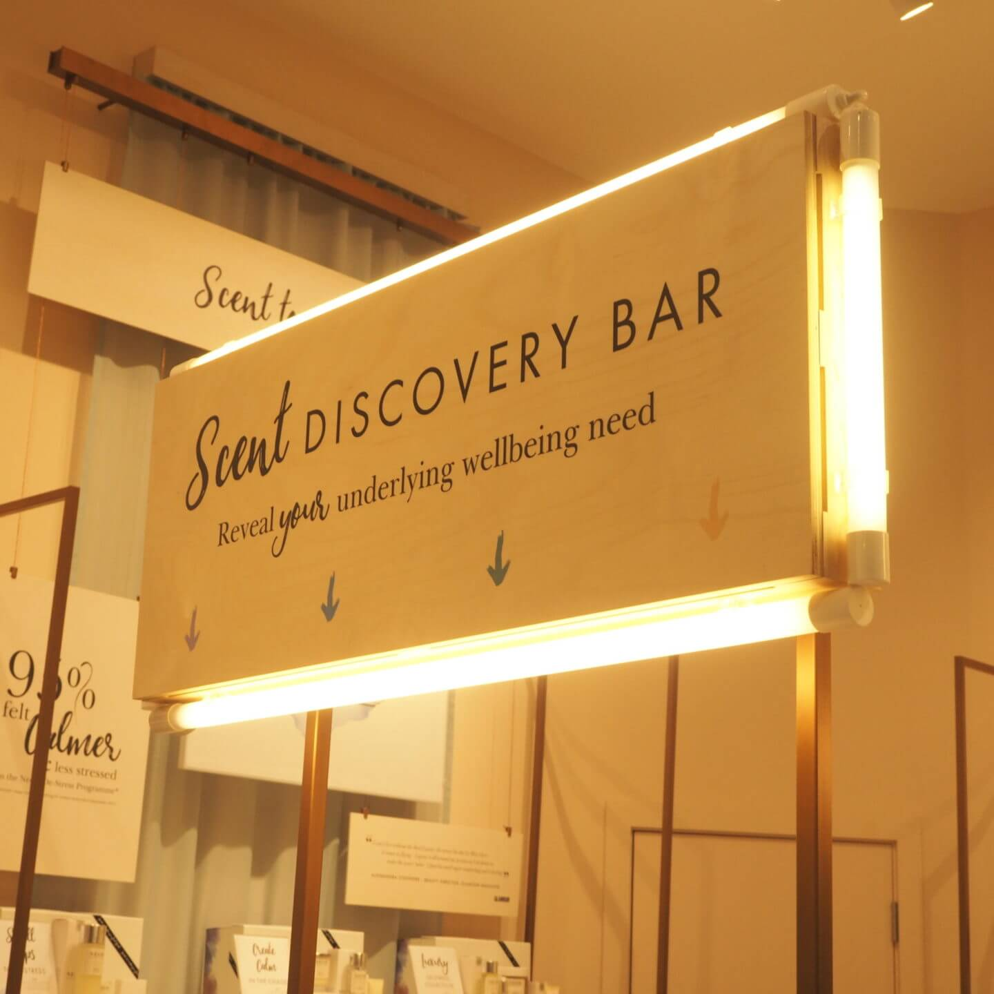 Neom Scent Discovery Bar Leeds Store