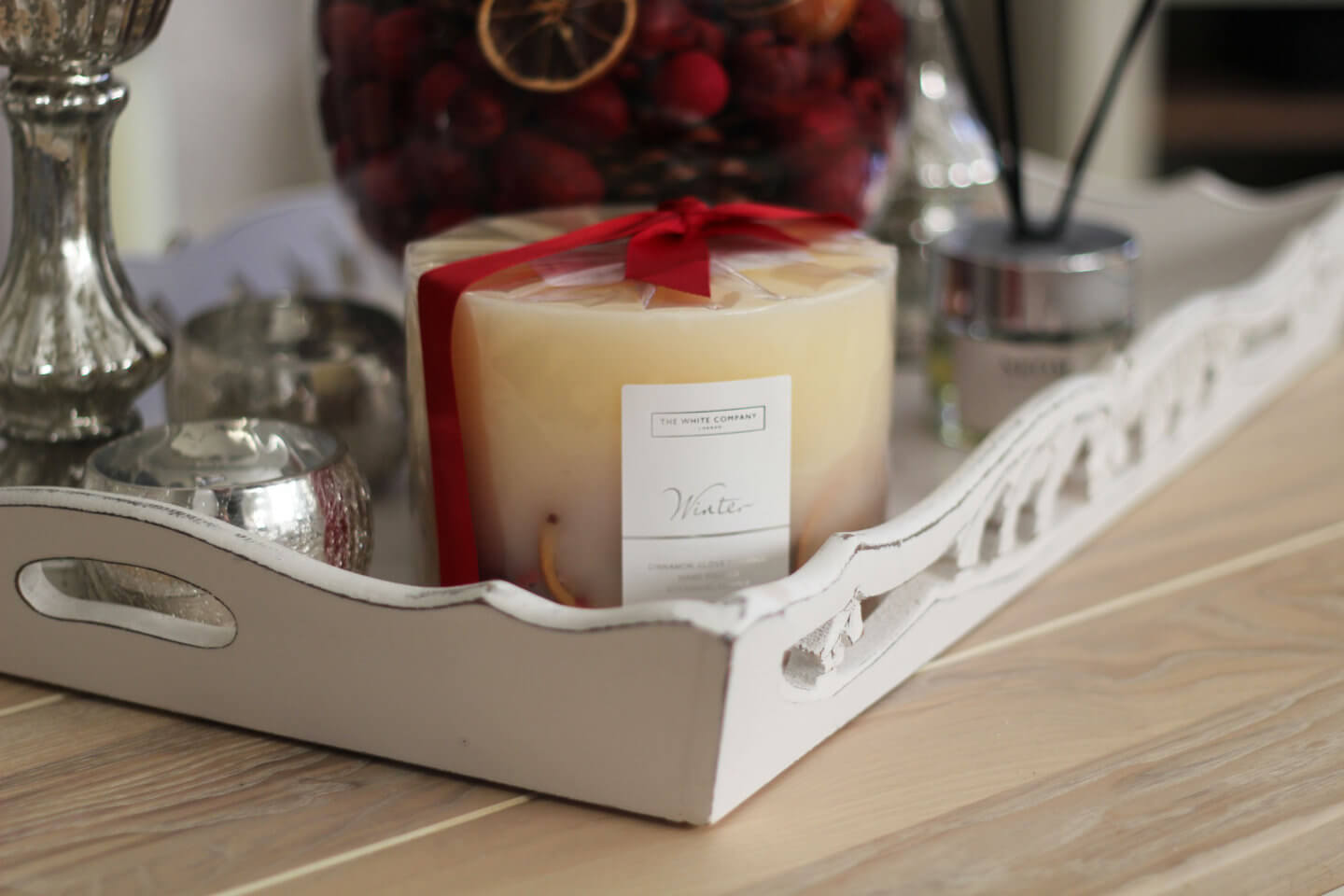 Winter Candle The White Company