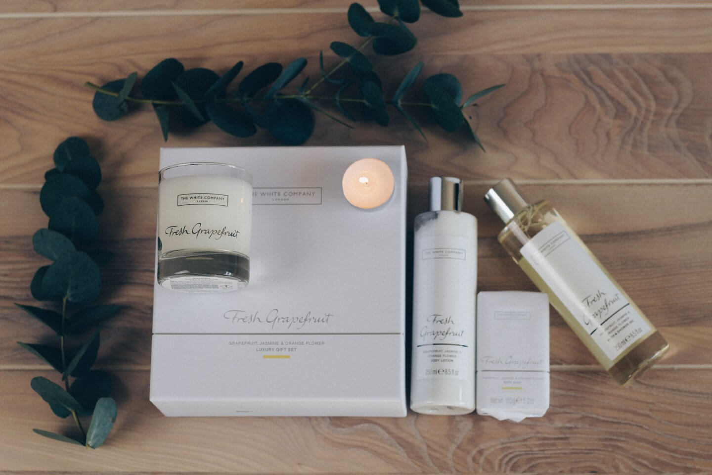 The White Company Fresh Grapefruit Gift Set