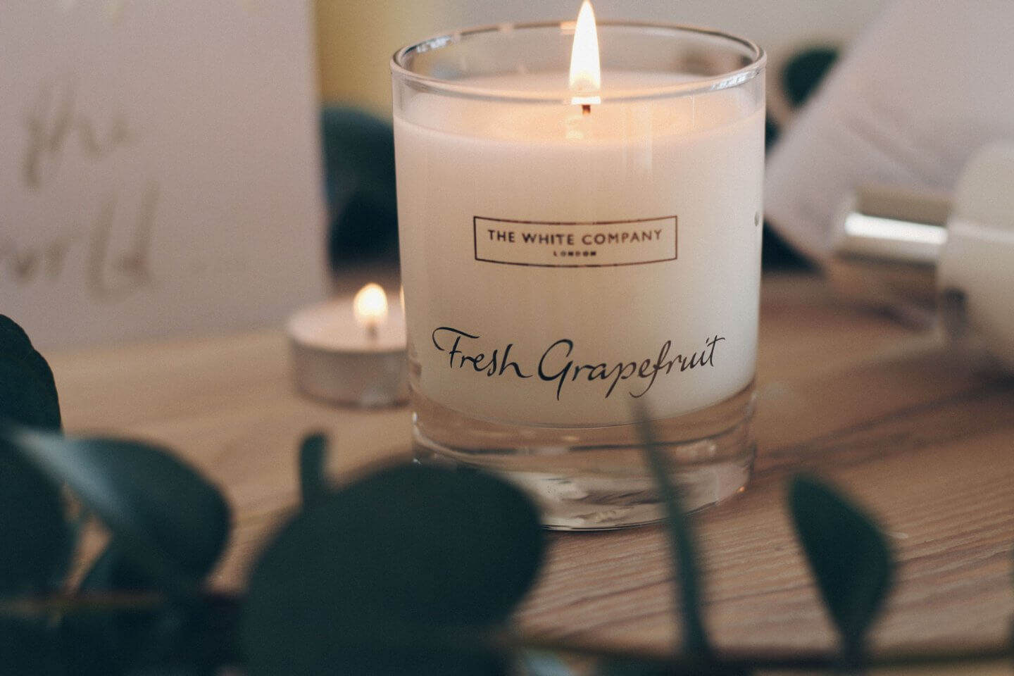 The White Company Fresh Grapefruit Candle