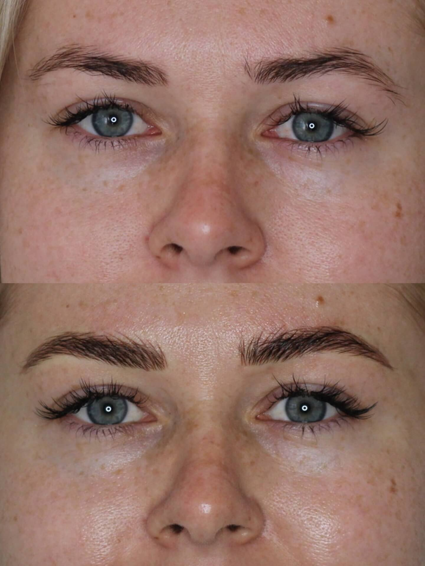 Before and After Microblading West Yorkshire